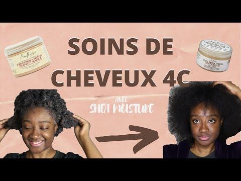 SOINS DE CHEVEUX 4C AVEC SHEA MOISTURE | StylistiKat |