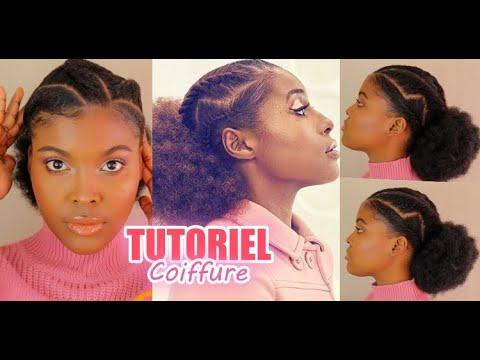 Coiffure pour Cheveux Crépus inspirée de Issa Rae