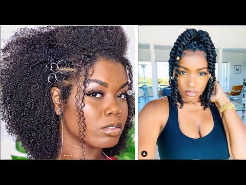 Rentrée 2020 : 11 Coiffures Faciles pour vos Beaux Cheveux Crépus