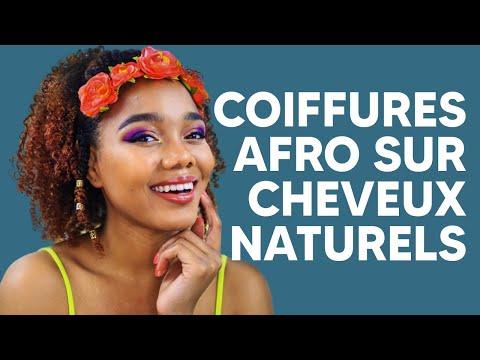 15+ COIFFURES AFRO SUR CHEVEUX NATURELS – COMPILATION 2020