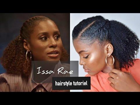 Coiffure Facile et Rapide pour Cheveux Crépus  Inspiration Issa Rae