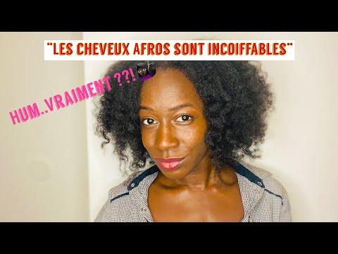 COIFFURE CHEVEUX CREPUS : Obtenir un Afro curly avec les bantu knot