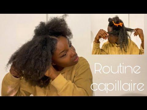 Comment  entretenir ses cheveux  | je réalise un masque avec vous | ma routine capillaire