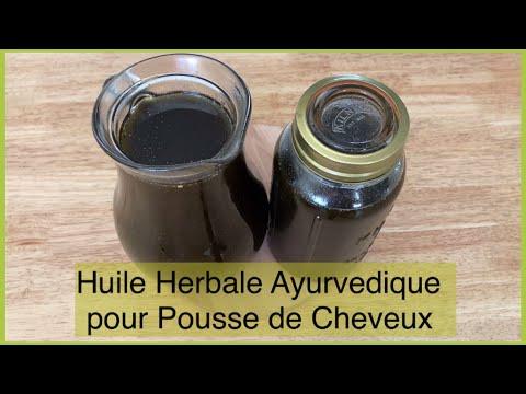 Huile Ayurvedique Miracle   Tes cheveux pousseront 3 fois plus Fenugrec, Amla, Aloe vera, Prêle