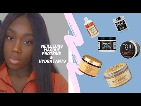 Meilleurs masques Hydratants et protéines / cheveux crépus / frisés /bouclés / lisse