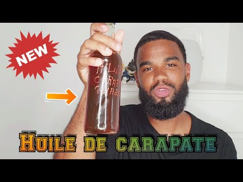 Huile de Carapate 🌱🌿🌰 #360waves #carapate #beaute #beautehomme