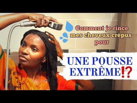 🇨🇮60. Comment je rince mes cheveux CRÉPUS pour une POUSSE EXTRÊME – Kinky hair beauties