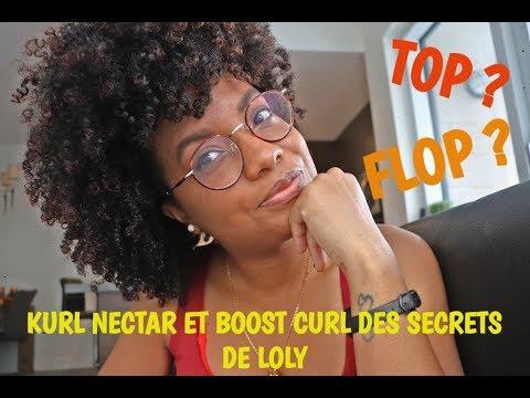 Kurl Nectar et Boost Curl Combo de choque ou pas? #LesSecretsdeLoly #Review