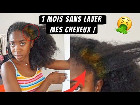 UN MOIS SANS ME LAVER LES CHEVEUX ! 🤢 Hélène Nk