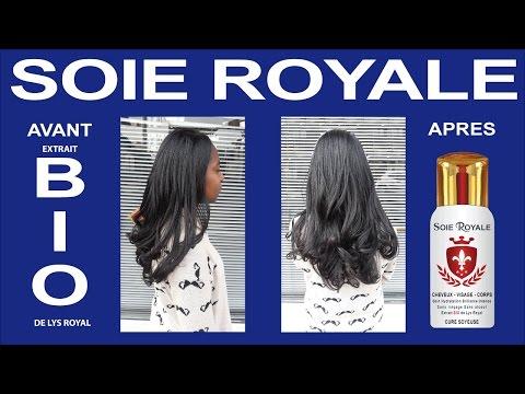 Spécial Relooking Soie Royale transforme vos Cheveux longs Crépus  en cheveux lisses et brillants.