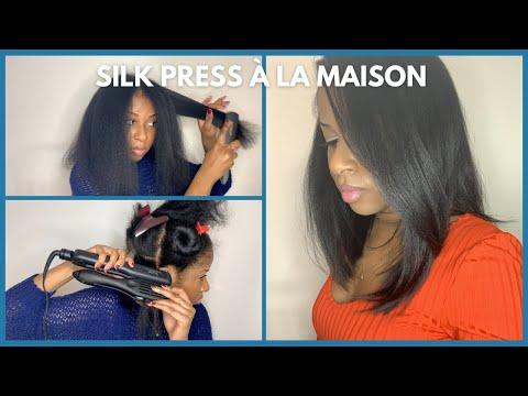 Comment lisser ses cheveux comme un pro | Silk press sur cheveux crépus