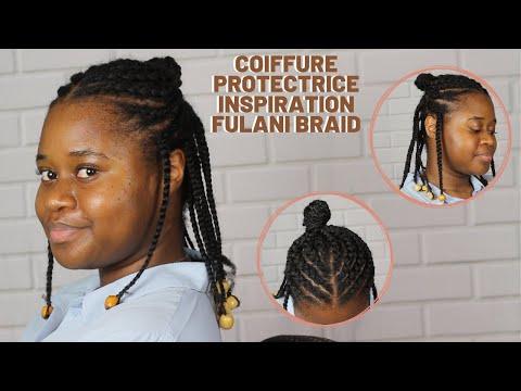 COIFFURE PROTECTRICE  INSPIRATION FULANI BRAID ÉPISODE 11 (CHEVEUX 4B/4C)