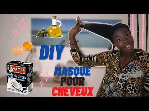 DIY / Masque maison cheveux crépus