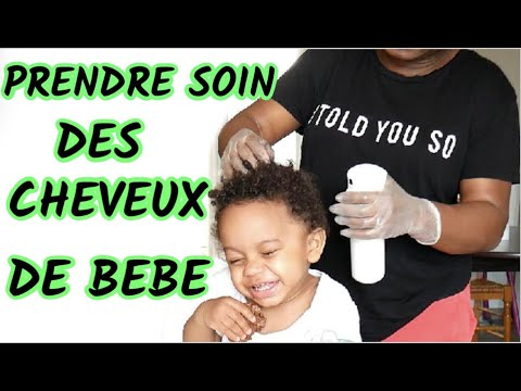 CHEVEUX BOUCLES /CREPUS : COMMENT PRENDRE SOIN DES CHEVEUX DE BEBE