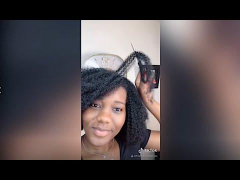 NATURAL HAIR TIKTOK COMPILATION || COMPILATION TIKTOK CHEVEUX CREPUS