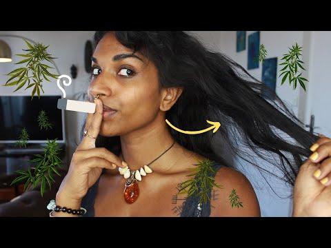 Comment réparer ses cheveux abîmés, secs, cassants et ternes avec l'HUILE DE CHANVRE (cannabis) ?