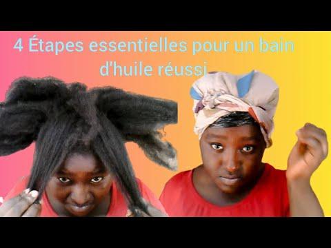 (N°29) BAIN D'HUILE: 4 ETAPES ESSENTIELLES A SUIVRE ABSOLUMENT || ROUTINE CAPILLAIRE CHEVEUX CREPUS