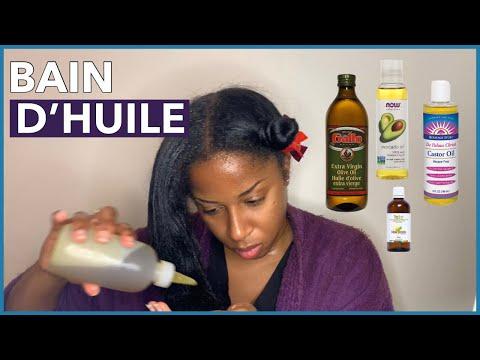 Comment faire un bain d'huile | Cheveux et cuir chevelu secs