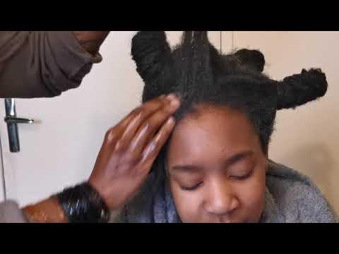 L 'huile qui démêle et qui lave les cheveux afro #2 les huiles à la folie