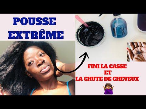 Masque Capillaire: POUSSE EXTRÊME, ANTI-CHUTE + VOLUME : cheveux crépus fins, secs,chute,alopécie🤝