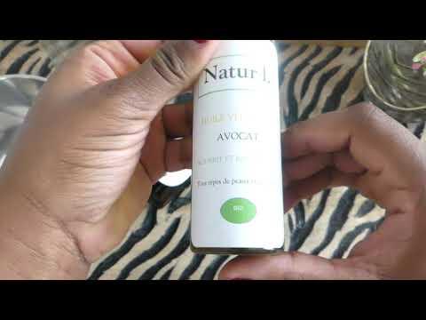 Mélange d'huile anti chute de  cheveux