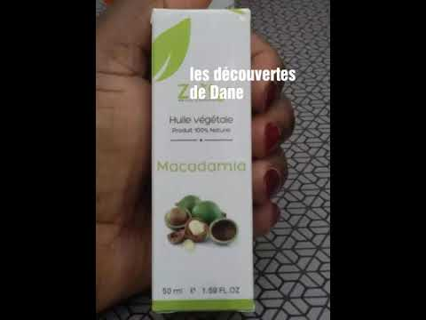 Meilleure huile pour cheveux afro (huile de macadamia)