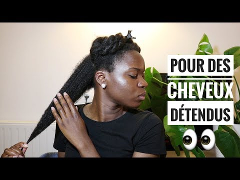 Je teste l'huile de cannabis sur mes cheveux crépus !