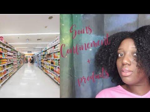 Soins Capillaires avec des produits achetés en supermarché