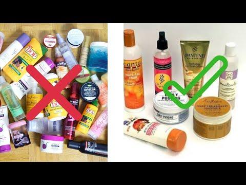 VOICI LES SEULS PRODUITS DONT VOUS AVEZ VRAIMENT BESOIN pour les soins des cheveux crépus |EPISODE 2