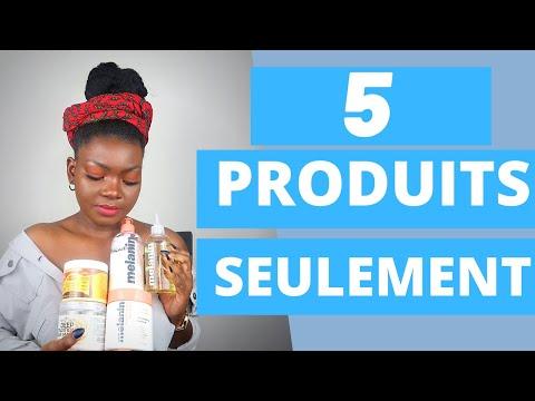 MES 5 PRODUITS POUR CHEVEUX NATURELS | CHEVEUX CRÉPUS
