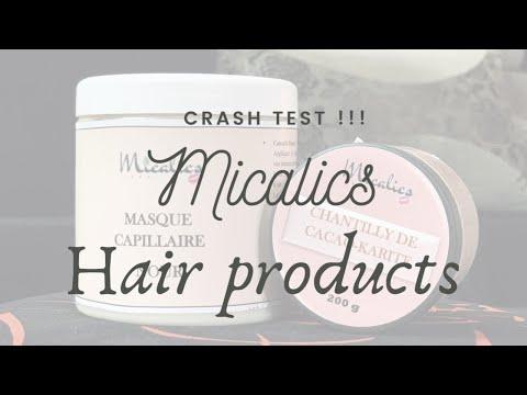 !!!CRASH TEST!!! Nourrir et démêler les cheveux Afro avec les produits Micalics