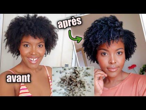 Couper les pointes des cheveux crépus comme une pro
