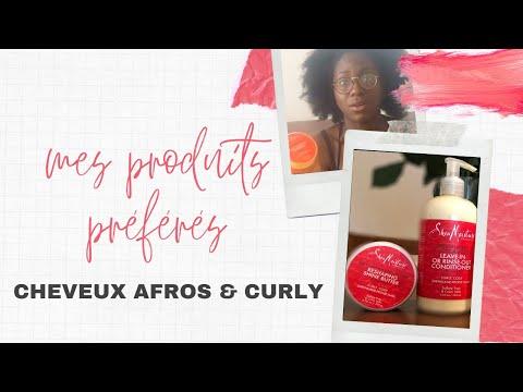 Mes produits préférés pour cheveux afro & curly