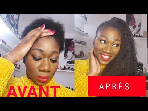 [TUTO]👩🏿🦱👩🏾🦱👩🏽🦱👩🏼🦱👩🏻🦱Plaquer CHEVEUX CRÉPUS COURTS sans gel + coiffure haute PONYTAIL🧞♀️