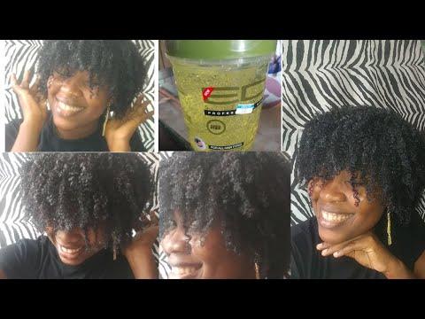 Gel Eco sur mes cheveux || Crash test #3 || Série: Bouclés ses cheveux || 💯 Succès 💖💖💖