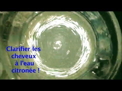 Cheveux crépus gras et ternes : comment clarifier les cheveux à l'eau citronée ?  💚