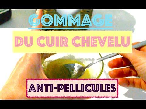 ☼ GOMMAGE DU CUIR CHEVELU/ANTI-PELLICULES/FACILE/PEU COÛTEUX ♥︎