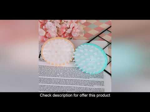 (47%OFF) Achat Peigne à main 2 couleurs Silicone cuir chevelu shampooing brosse de Massage peigne d