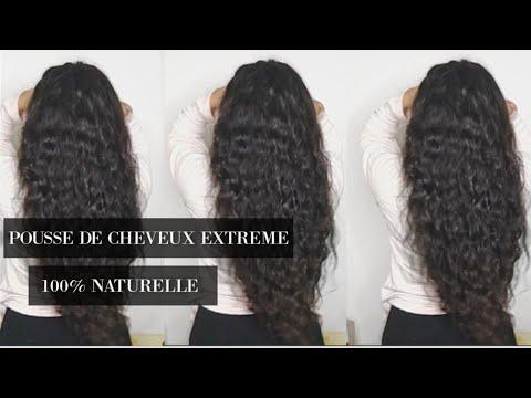 POUSSE DE CHEVEUX EXTREME –  Ma potion magique pour faire pousser mes cheveux naturellement
