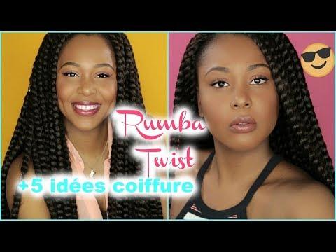 CROCHET BRAIDS RUMBA TWIST +4 IDÉES COIFFURE [TUTORIEL COIFFURE FACILE] | SEPHORA DREAMS