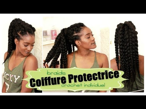 Coiffure Protectrice: Crochet Braids individuel
