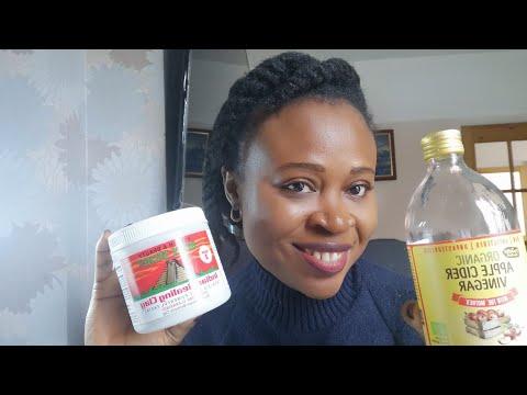 DIY Masque a l'argile Bentonite et le vinaigre de cidre pour le detox des cheveux et la pousse
