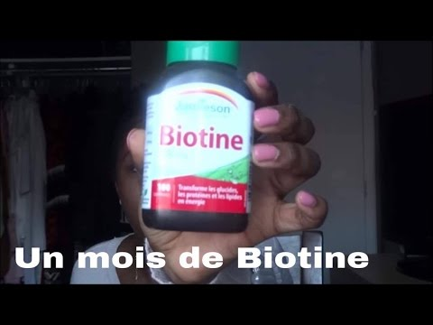 Pousse rapide grâce à la Biotine. Les résultats/ Défi pousse hands only!