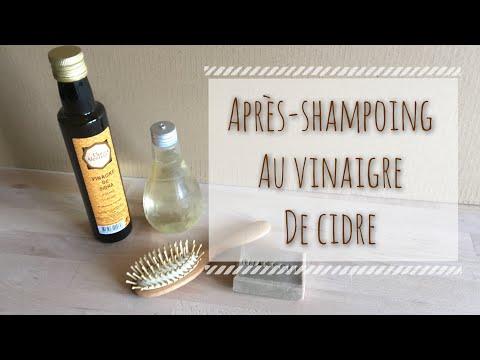 DIY – Après shampoing démélant au vinaigre de cidre