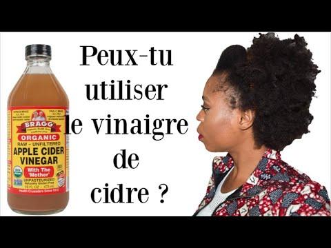 Peux-tu utiliser le vinaigre de cidre et comment ?