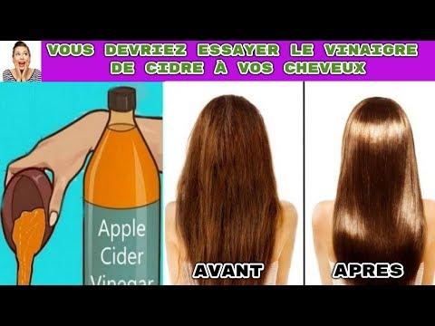 Pourquoi devriez-vous vous laver les cheveux avec du vinaigre de cidre ?