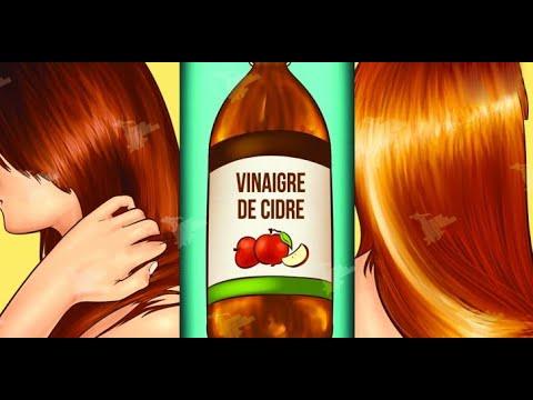 Voici pourquoi le vinaigre de cidre est excellent pour les cheveux