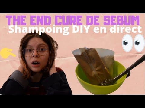 🙀 Résultat cure de sébum 1 mois : Shampoing DIY en direct 🌿 poudres ayurvédiques  🌿