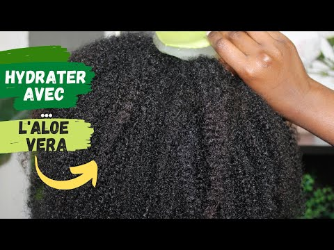 Masque aloe vera pour activer la pousse & hydrater   Cheveux crépus
