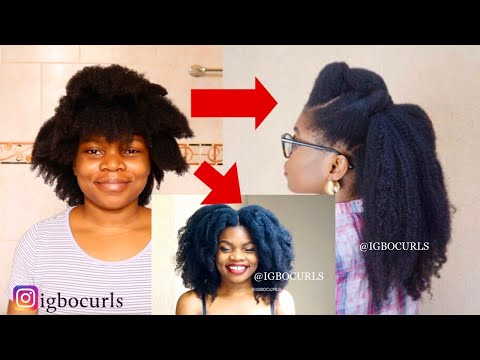 10 Ways To Reduce Shrinkage on 4c Natural Hair Without Heat